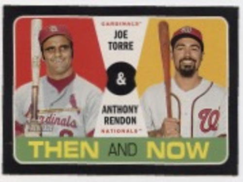 Photo of 2020 Topps Heritage Then and Now #TN7 Joe Torre/Anthony Rendon