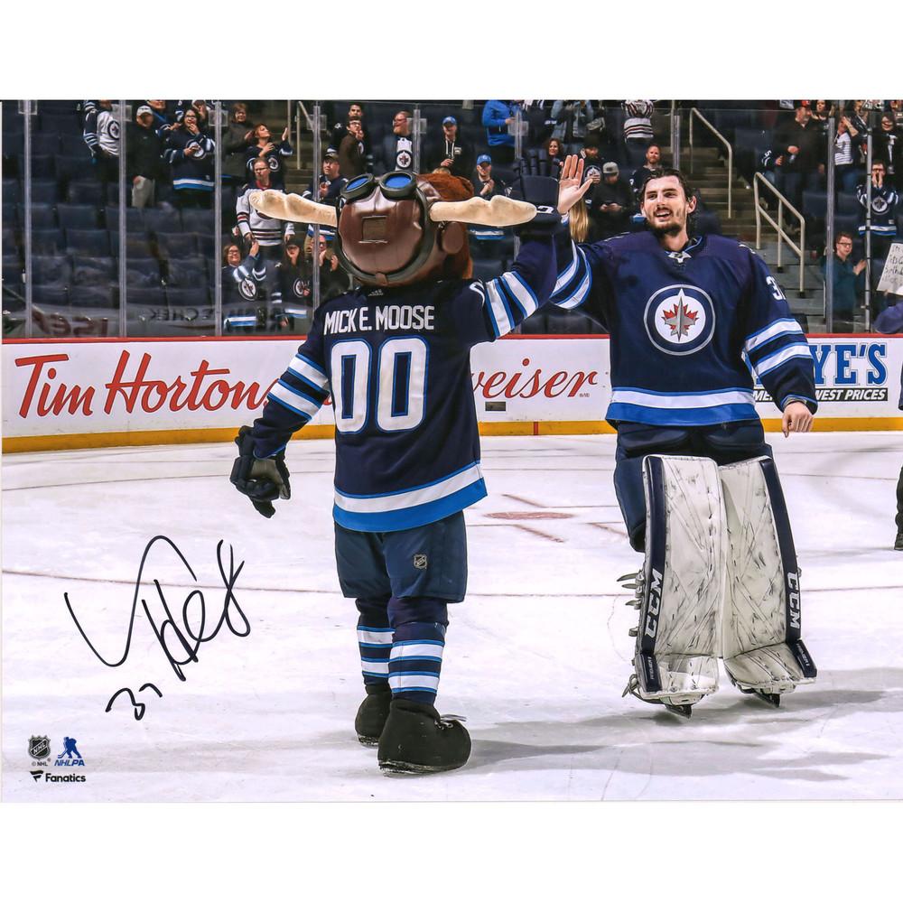 Connor Hellebuyck Winnipeg Jets Autographed 11