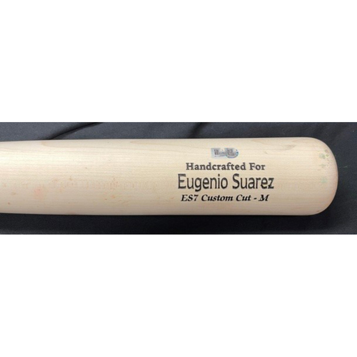 Photo of 2021 Opening Day Game-Used Broken Bat -- Reyes to Suarez (Pop Out - 97.7 MPH Fastball) -- Bottom 9 -- Cardinals vs. Reds on 4/1/21