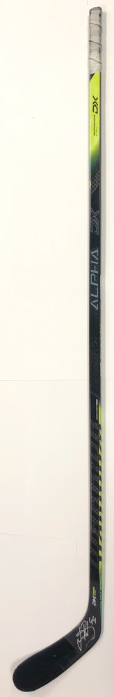 #44 Jan Rutta Game Used Stick - Autographed - Tampa Bay Lightning