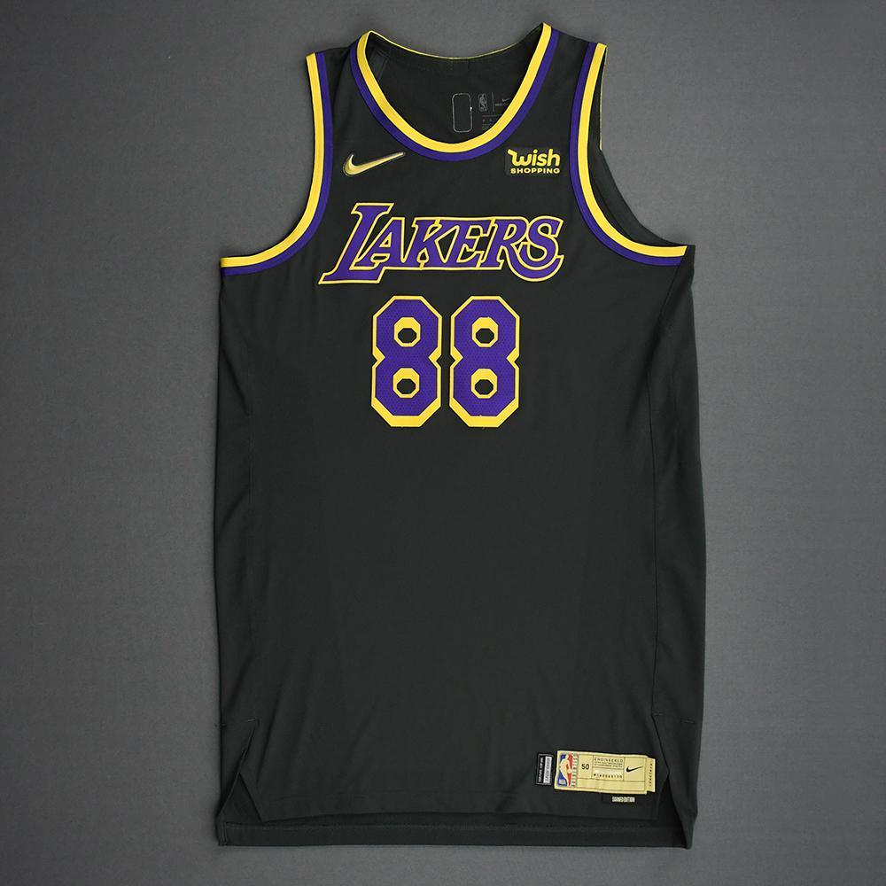 Markieff Morris - Los Angeles Lakers- Game-Worn Earned Edition ...