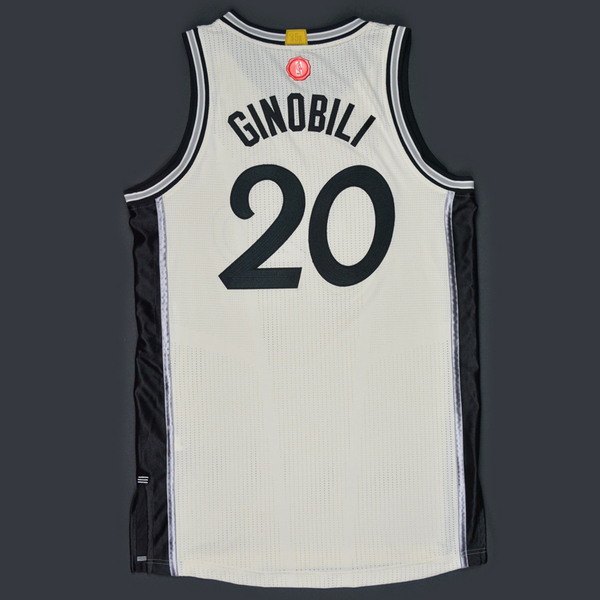 check out 77ec4 17869 Manu Ginobili - San Antonio Spurs - Game-Worn Jersey - NBA ...