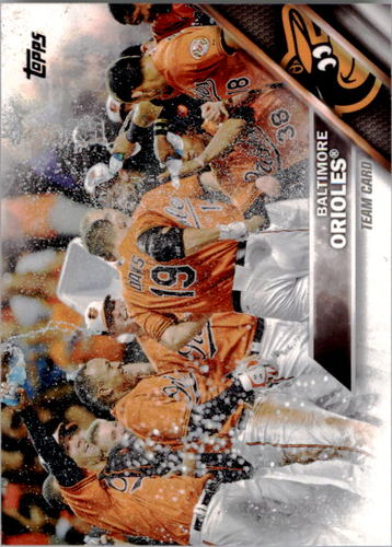 Photo of 2016 Topps #238 Baltimore Orioles
