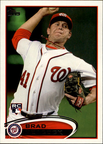 Photo of 2012 Topps #275 Brad Peacock RC