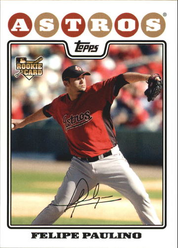 Photo of 2008 Topps #601 Felipe Paulino RC