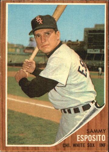 Photo of 1962 Topps #586 Sammy Esposito SP