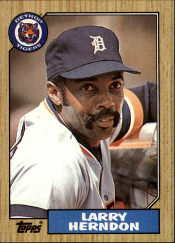 Photo of 1987 Topps #298 Larry Herndon