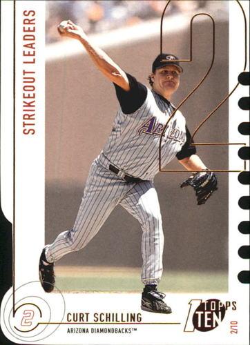 Photo of 2002 Topps Ten Die Cuts #152 Curt Schilling K