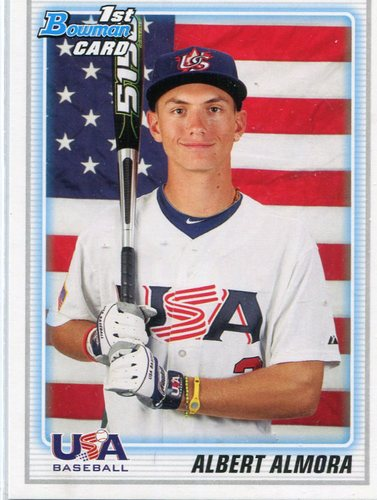 Photo of 2010 Bowman Chrome Draft Prospects #BDPP57 Albert Almora  Pre-Rookie Card