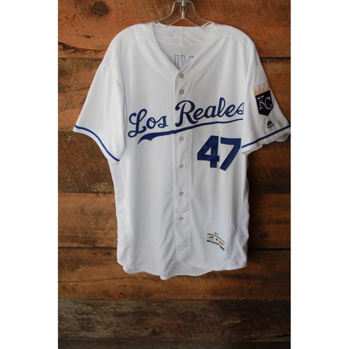 Game-Used Jersey: Peter Moylan (6/24/17 - TOR at KC - Size 48)