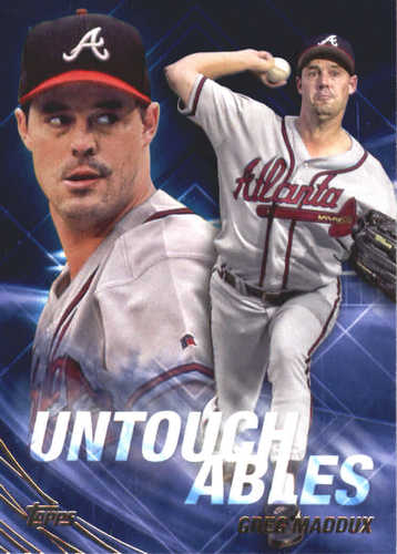 Photo of 2017 Topps Update Untouchables #U12 Greg Maddux