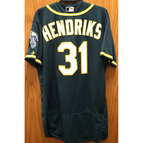 Photo of 2017 Liam Hendriks Game-Used Jersey