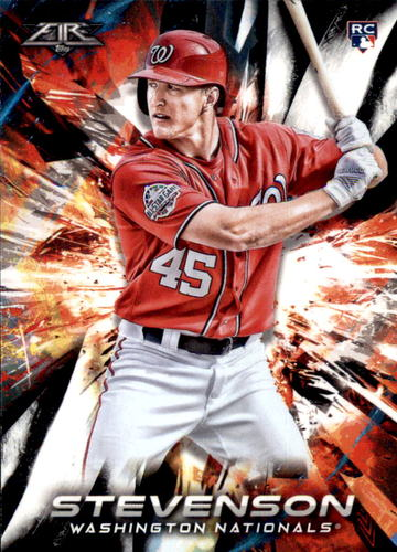 Photo of 2018 Topps Fire #51 Andrew Stevenson RC