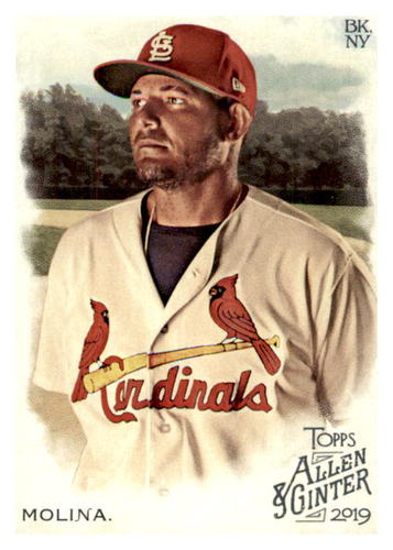 Photo of 2019 Topps Allen and Ginter #63 Yadier Molina