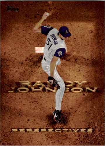 Photo of 2016 Topps Perspectives #P22 Randy Johnson