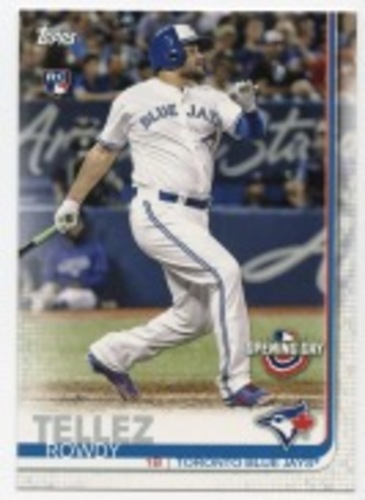 Photo of 2019 Topps Opening Day #112 Rowdy Tellez RC