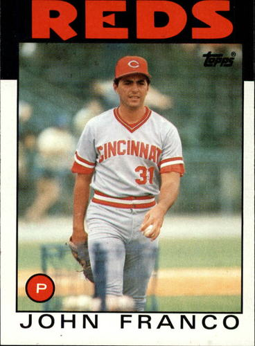Photo of 1986 Topps #54 John Franco