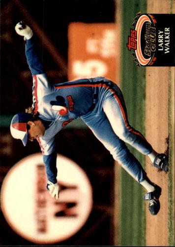 Photo of 1992 Stadium Club #256 Larry Walker