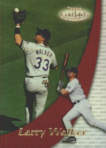 Photo of 2000 Topps Gold Label Class 2 #70 Larry Walker