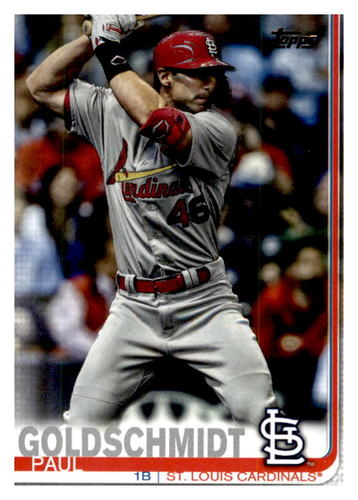 Photo of 2019 Topps Update #US12 Paul Goldschmidt