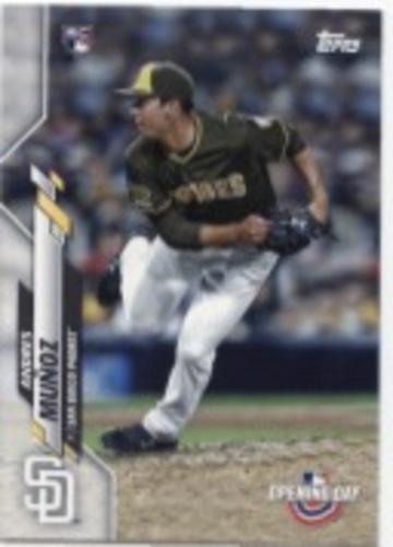 Photo of 2020 Topps Opening Day #126 Andres Munoz RC