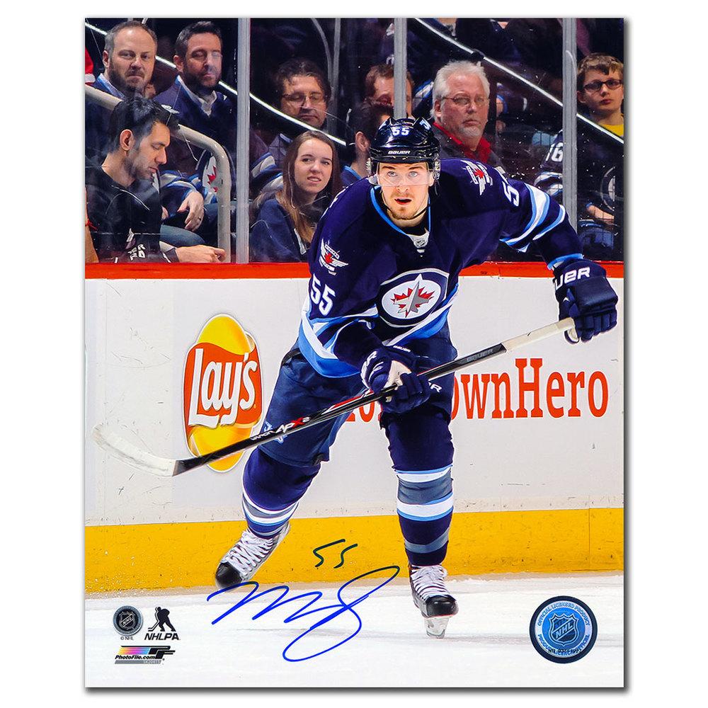 Mark Scheifele Winnipeg Jets RUSH Autographed 8x10 Photo