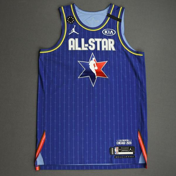 Image of KawhiLeonard - 2020 NBA All-Star - Team LeBron - Autographed Jersey