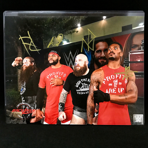 Photo of Viking Profits SIGNED Backlash Exclusive 11x14 Photo Flat (Random Number)