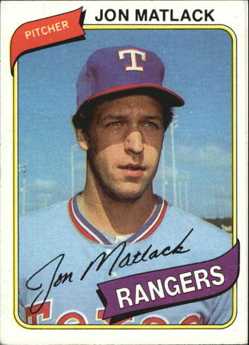 Photo of 1980 Topps #592 Jon Matlack