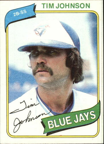 Photo of 1980 Topps #297 Tim Johnson
