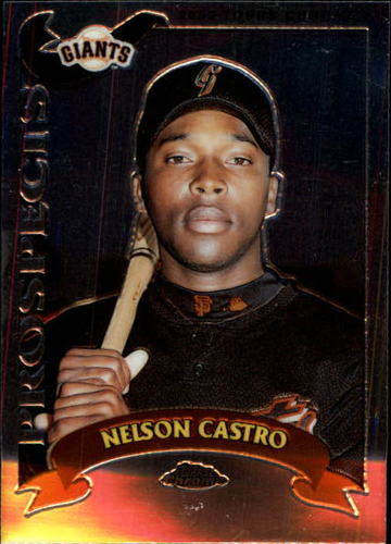 Photo of 2002 Topps Chrome Traded #T116 Nelson Castro RC