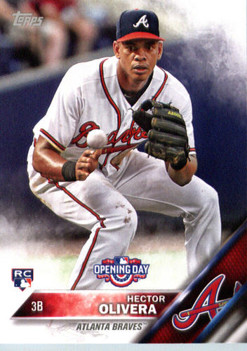 Photo of 2016 Topps Opening Day #OD125 Hector Olivera RC