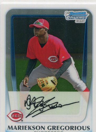 Photo of 2011 Bowman Chrome Prospects #BCP209 Mariekson (Didi) Gregorious Pre-Rookie Card