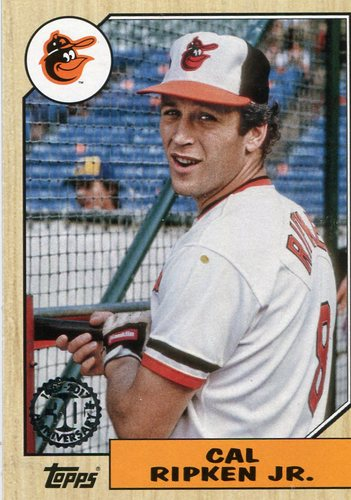 Photo of 2017 Topps '87 Topps #8748 Cal Ripken Jr.