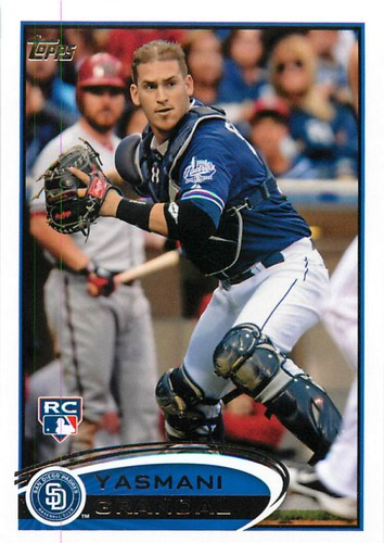 Photo of 2012 Topps Update #US104 Yasmani Grandal Rookie Card