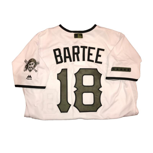 Photo of Kimera Bartee Game-Used Memorial Day Jersey