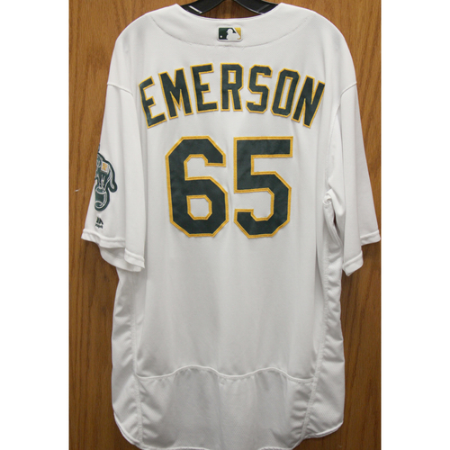 2017 Scott Emerson Game-Used Jersey