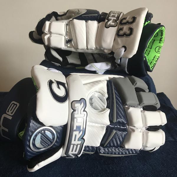 Photo of Georgetown Men's Lacrosse Gloves #33