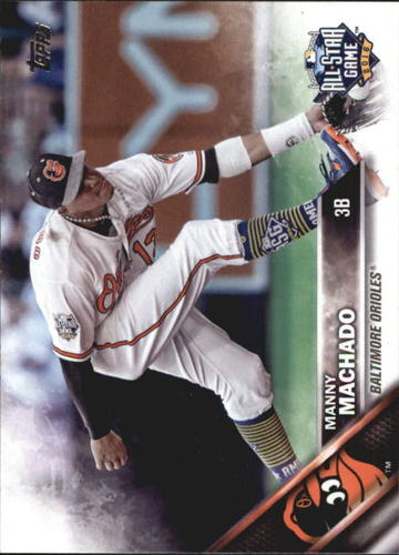 Photo of 2016 Topps Update #US1A Manny Machado AS