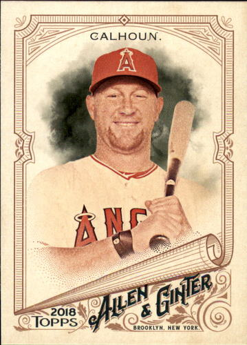 Photo of 2018 Topps Allen and Ginter #46 Kole Calhoun
