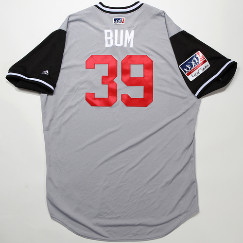 "Photo of Aaron ""Bum"" Bummer Chicago White Sox Team-Issued 2018 Players' Weekend Jersey"
