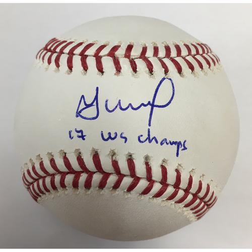 Jose Altuve Autographed