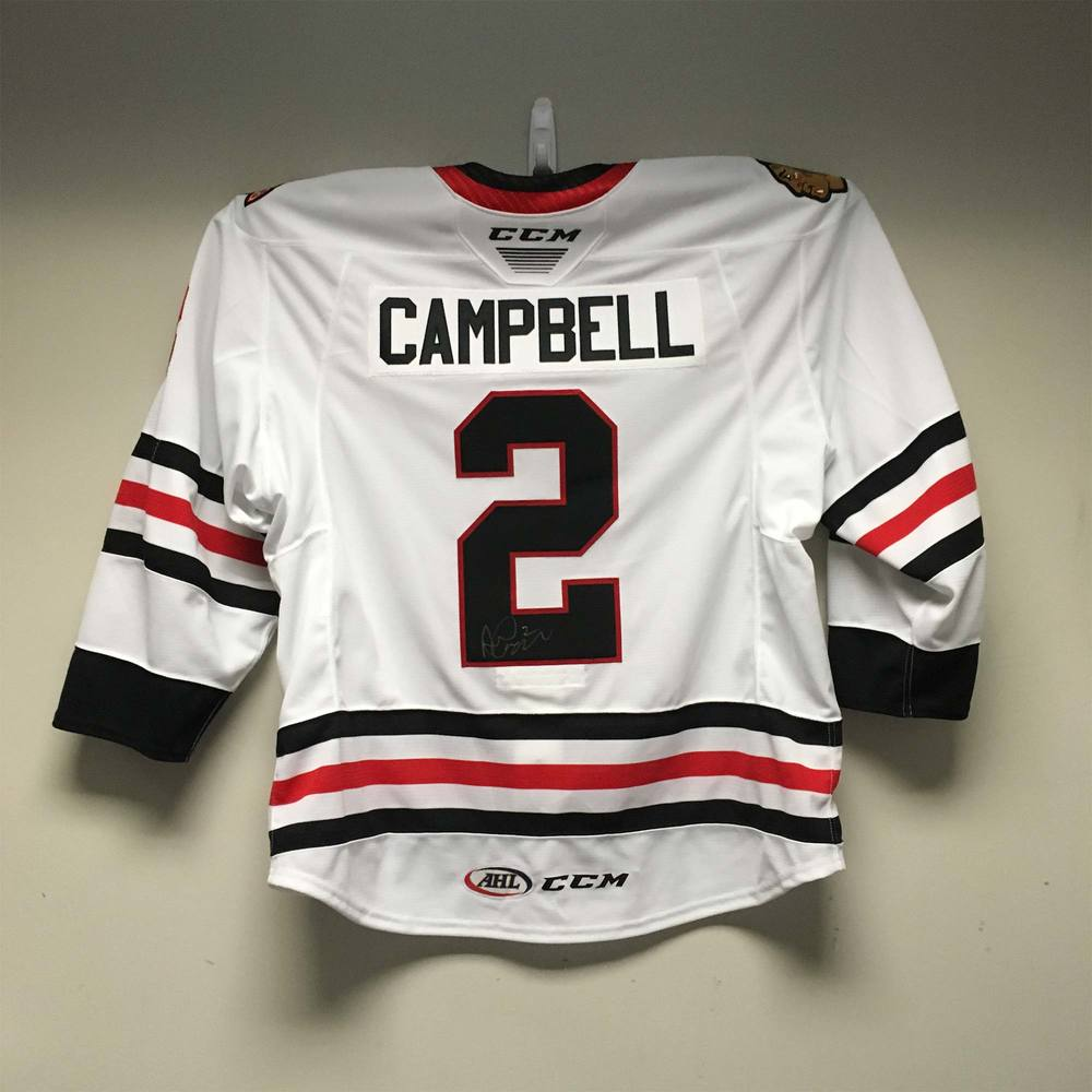 2019 Lexus AHL All-Star Skills Competition Jersey Worn and Signed by #2 Andrew Campbell
