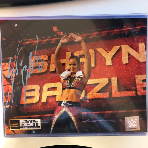 Shayna Baszler SIGNED WrestleMania 35 Superstore Exclusive Photo (Random Number)