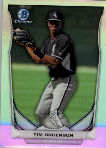 Photo of 2014 Bowman Chrome Draft Top Prospects Refractors #CTP47 Tim Anderson