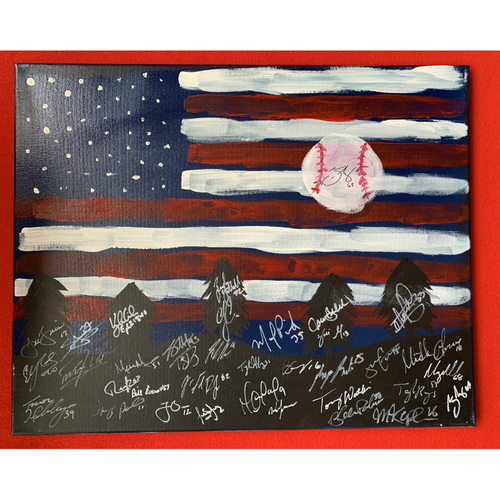 Photo of 2019 Twins Favorite Things Auction: Trevor May Painting