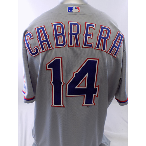 Photo of Team-Issued Grey Asdrubal Cabrera Jersey - Size 48