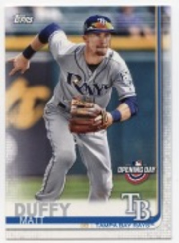 Photo of 2019 Topps Opening Day #114 Matt Duffy
