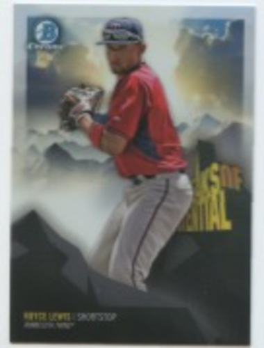 Photo of 2018 Bowman Chrome Peaks of Potential Refractors #PPRL Royce Lewis