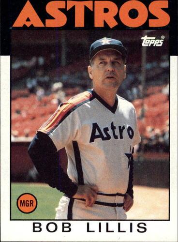 Photo of 1986 Topps #561 Bob Lillis MG
